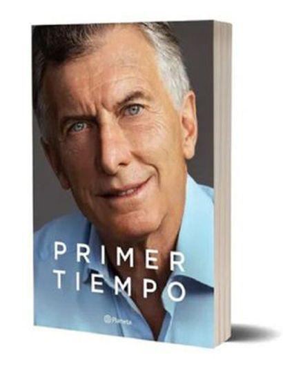Macri presentó su libro Primer tiempo
