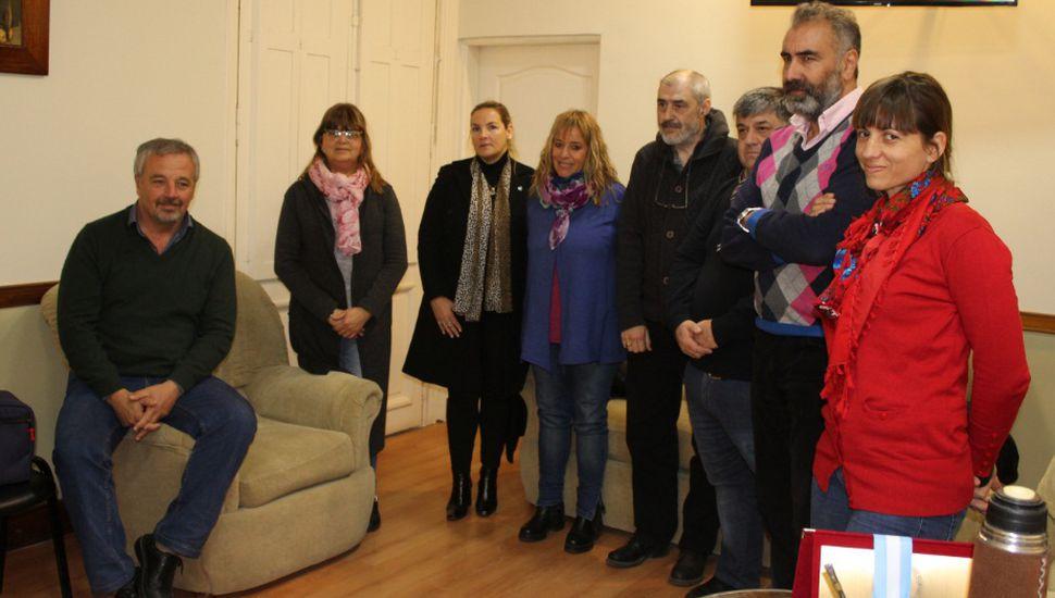 La Municipalidad firmó el convenio con el Centro de Formación Profesional