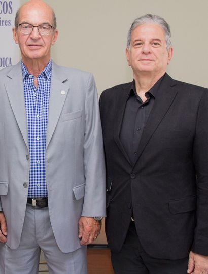 Dr. Jorge Lusardi y Dr. Rubén Tucci.