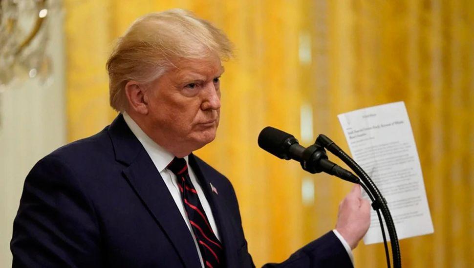 Donald Trump demandó al New York Times por difamación