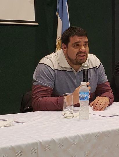 Federico Melo, titular del SEC.