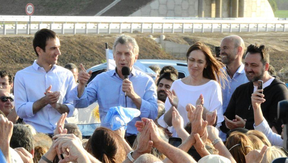 """""""La vamos a dar vuelta, claro que se puede"""", lanzó Macri en Junín"""
