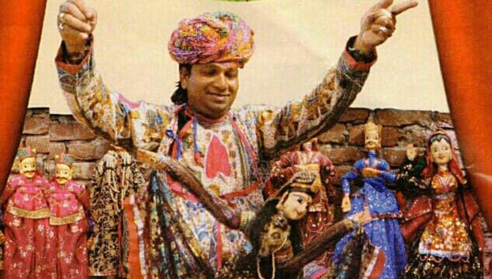 Desde la India llegan las marionetas de Prakash Bhatt.