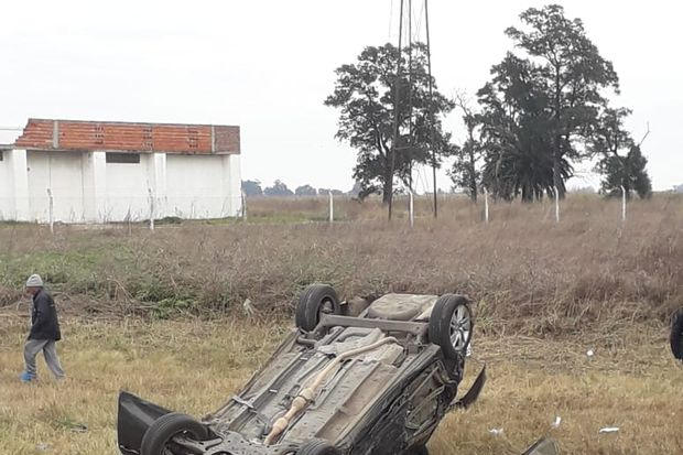 Choque en Ruta 188