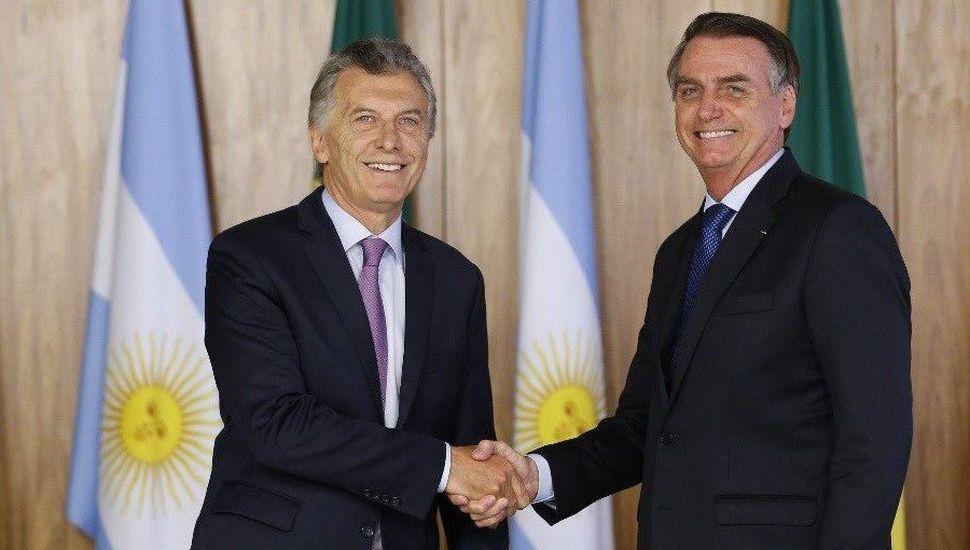 Macri se encontrará con Bolsonaro en su última gira