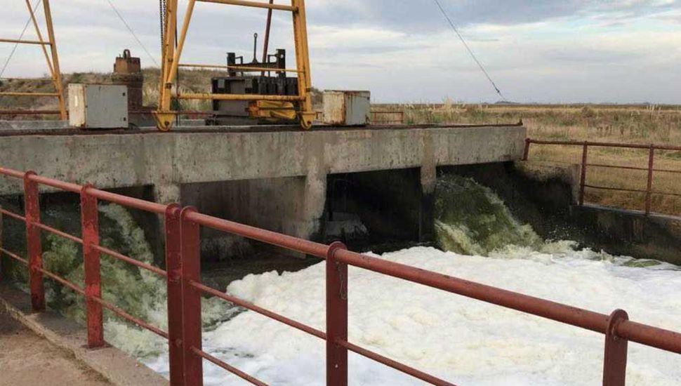 Destacan que la Provincia haya autorizado  la salida de agua por gravedad en La Picasa
