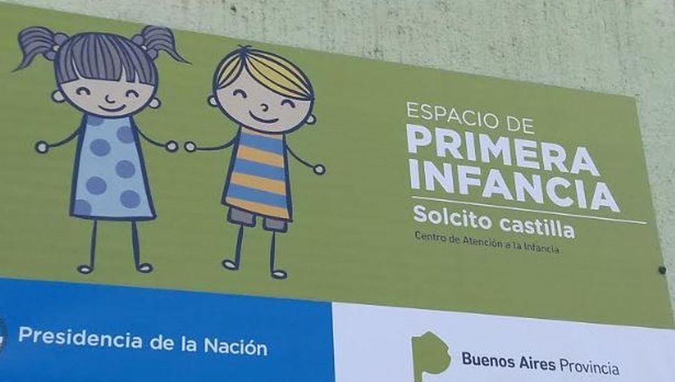 Nueva cartelería para los centros de primera infancia de Chacabuco