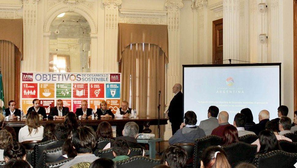 La Provincia acompañó a Bragado en su adhesión a la Agenda de Desarrollo Sostenible 2030
