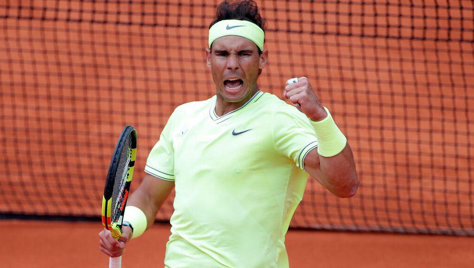 Nadal le ganó a Federer y jugará  mañana la final de Roland Garros