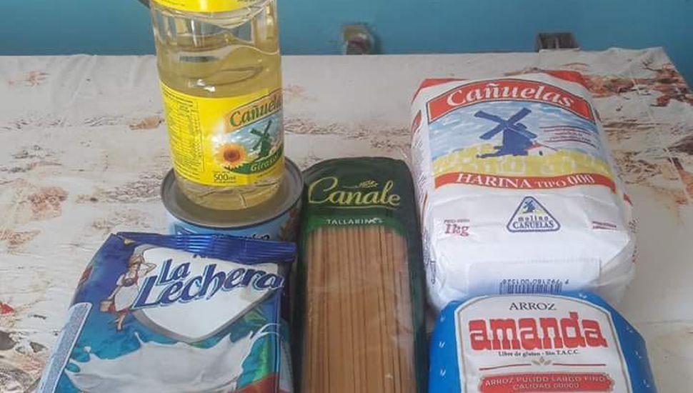 Pocos productos contienen los bolsones que da PAMI.