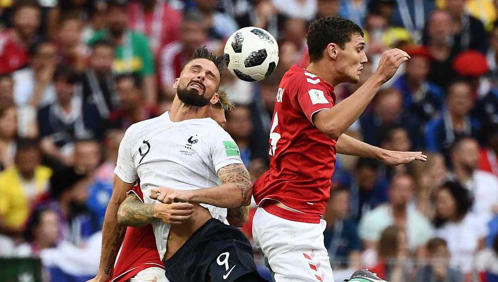 Francia empató con Dinamarca y será el próximo rival de Argentina.