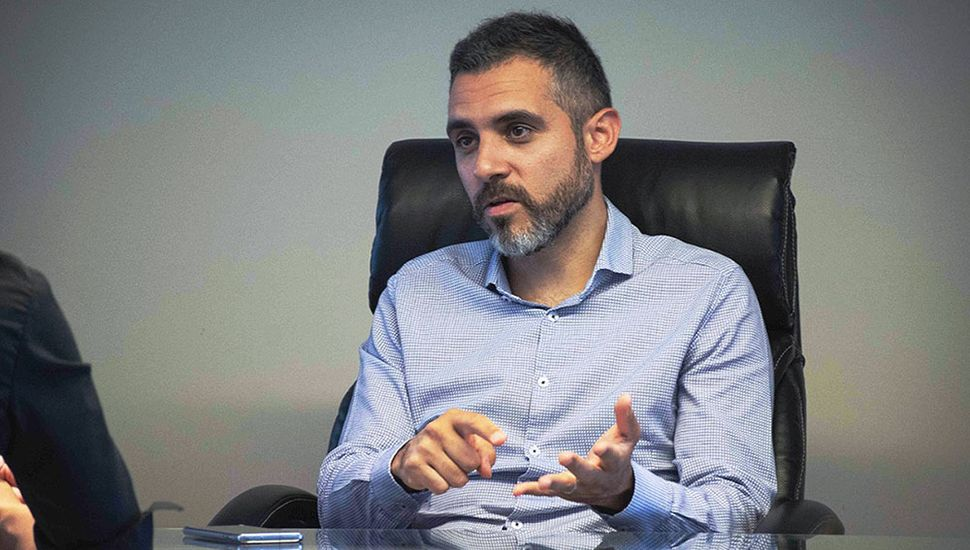 Cristian Girard, director de Arba.