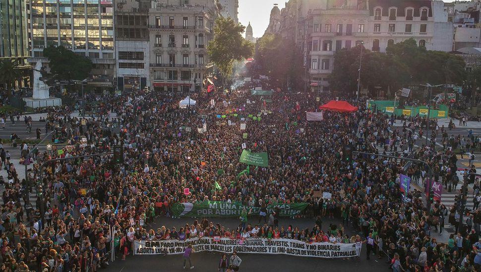 8-M: multitudinario reclamo nacional