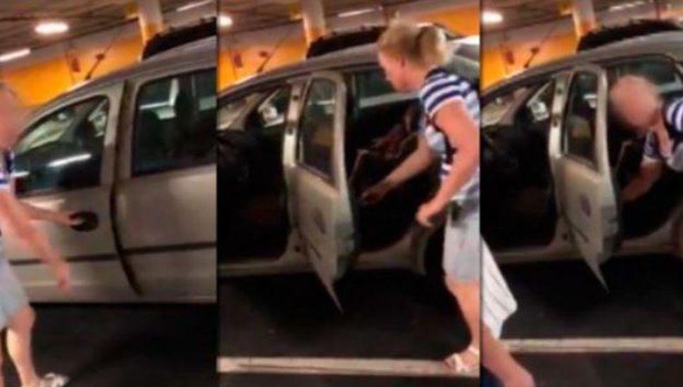 """Dejó a su hija encerrada en el auto con 35°: """"Fue mi marido, ¿qué quiere que le haga?"""""""