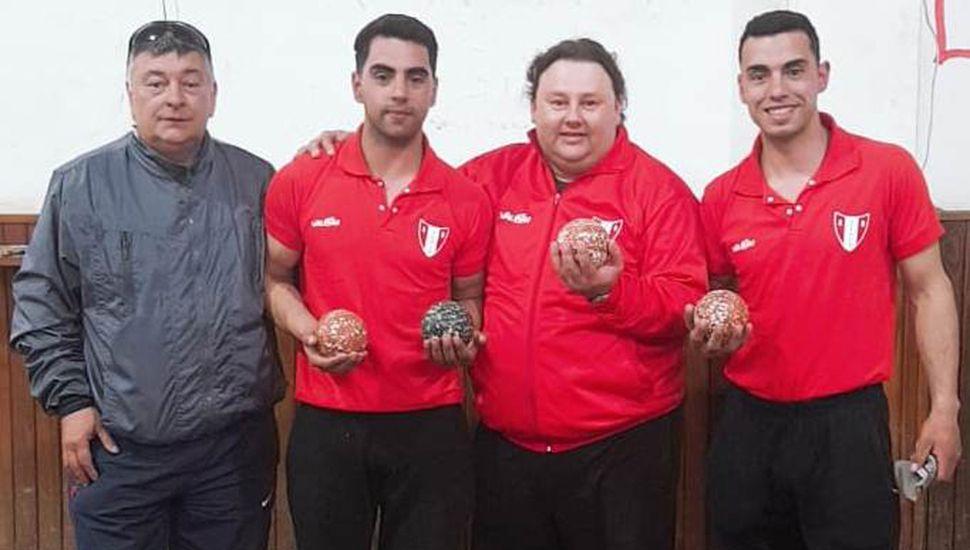 Silvio Parodi, Braian y Lautaro Pérez ganaron el zonal en Rojas e irán al Provincial de San Nicolás.