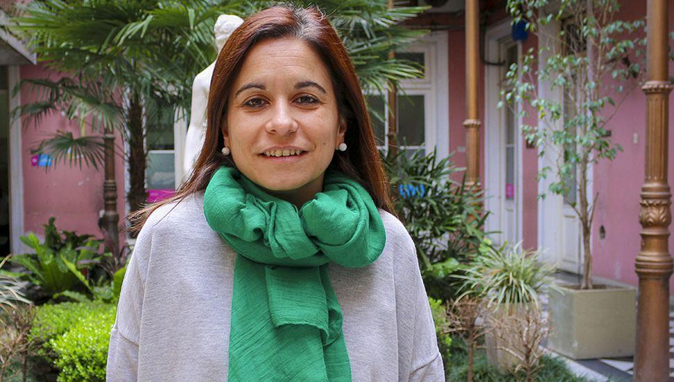 Clara Masino, encargada de la Oficina de Empleo.