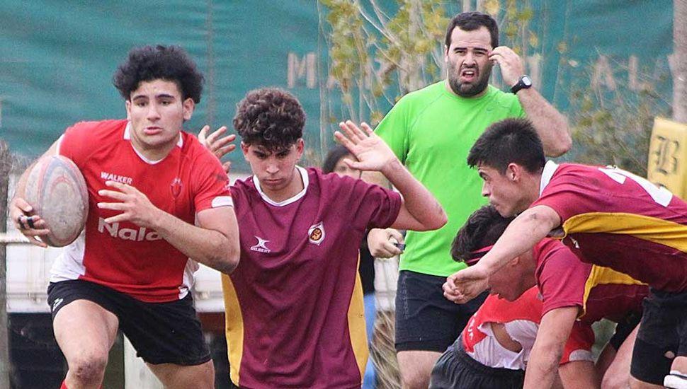 Los Miuras jugará hoy por el torneo amistoso de rugby ante SORUC de Chacabuco, en categorías M-14; M-15: M-16 y M-18.