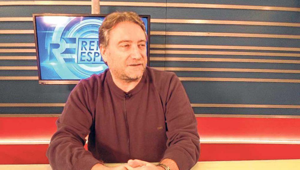 Héctor Azil, secretario de Atsa filial Junín.