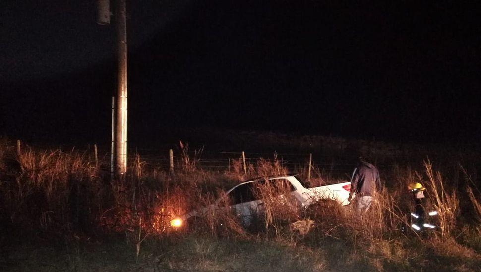 Se produjo un accidente en el camino Ascensión - Ferré