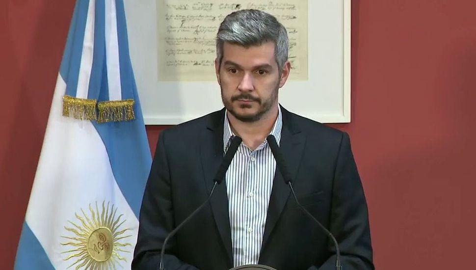 """VIVO - Peña: """"No hubo ningún condicionamiento del FMI para dar un préstamo"""""""