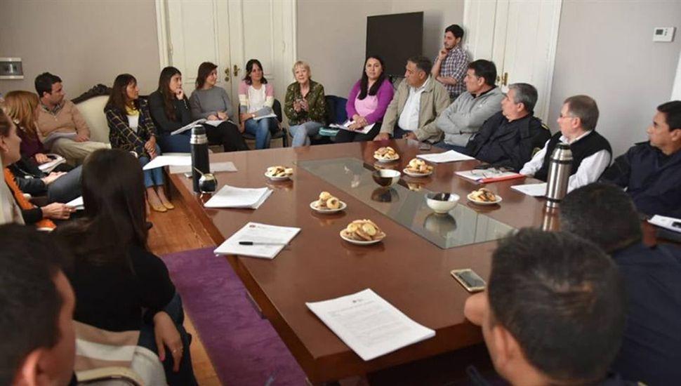 La reunión se hizo en la Mesa Local para casos de alta gravedad.