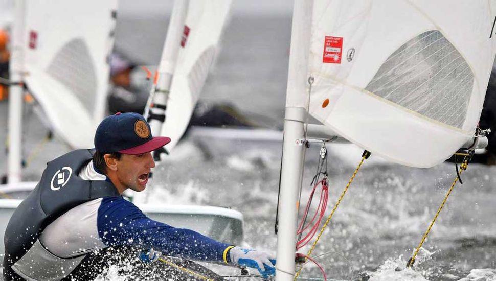 """Francisco """"Pancho"""" Guaragna se ubica 21° en la Copa del Mundo de Yachting 2019, clase Láser."""