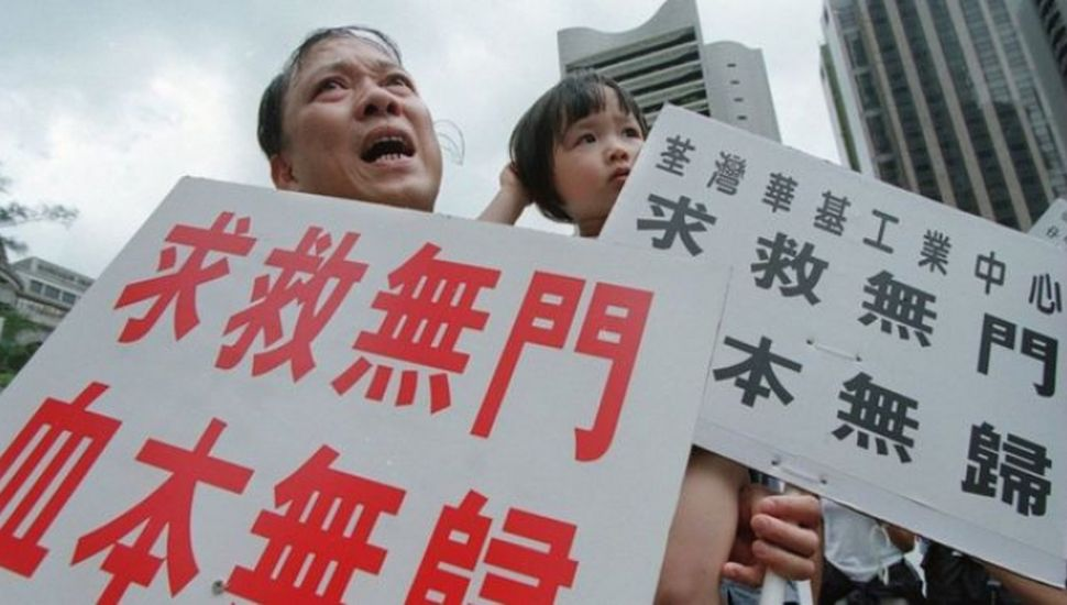 China amenaza a Estados Unidos por  su apoyo a las protestas en Hong Kong
