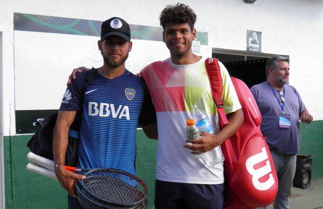 Se vivió otra gran jornada del mejor tenis internacional