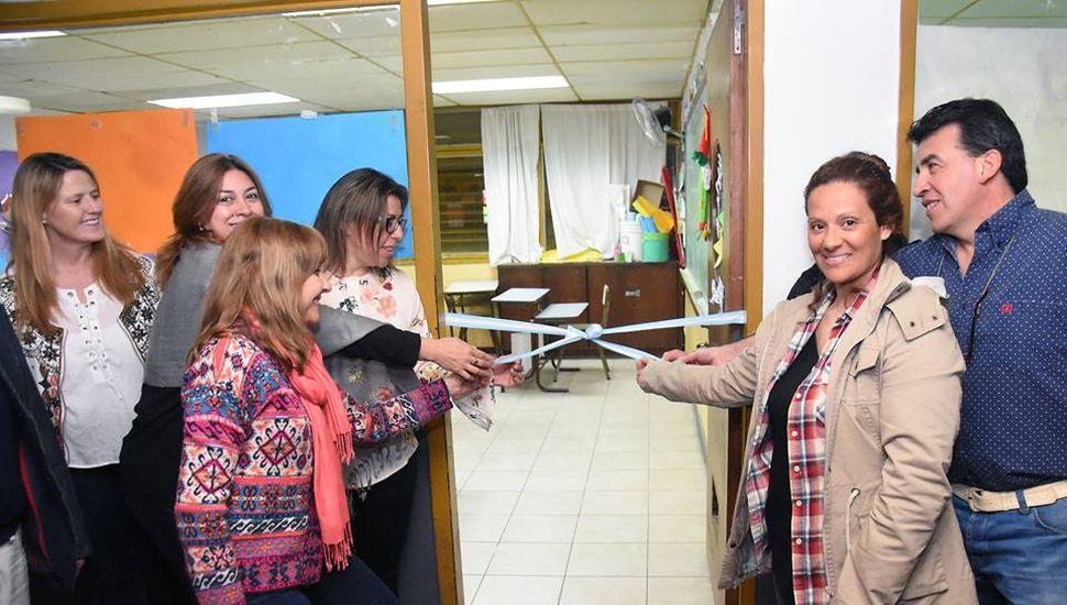 Inauguraron el Centro Educativo de Nivel Secundario de Adultos N° 451