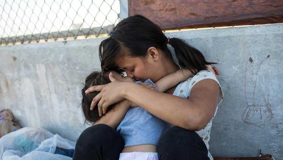 Miles de niños fueron separados de sus padres.