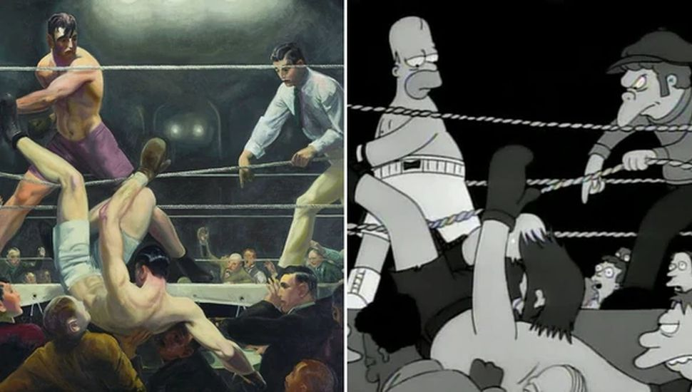 Firpo inspiró a Matt Groening para una escena de Los Simpsons