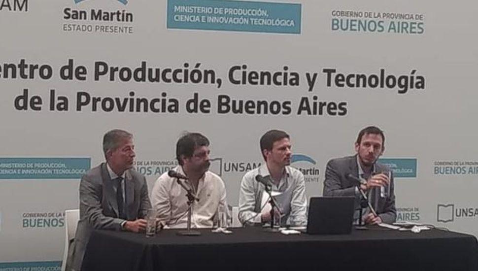 Alem estuvo presente en el primer Encuentro de Producción, Ciencias y Tecnología de la provincia