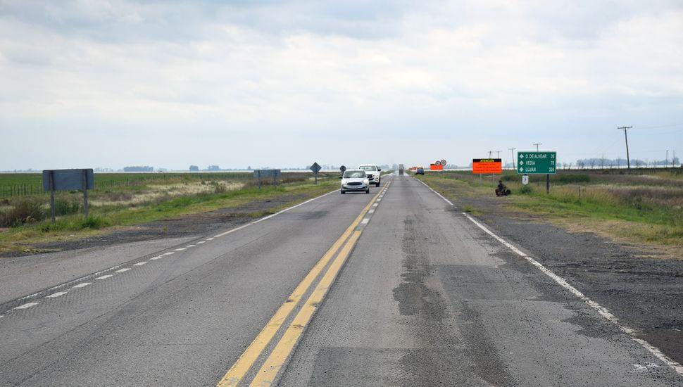 La Picasa: rehabilitaron el tramo de la ruta 7 que estuvo cortado durante más de dos años