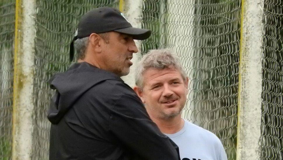 Iván Delfino y Fernando Chiófalo.