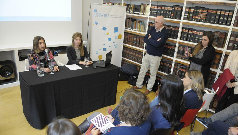 La Unnoba presentó su Repositorio Digital Institucional Abierto.