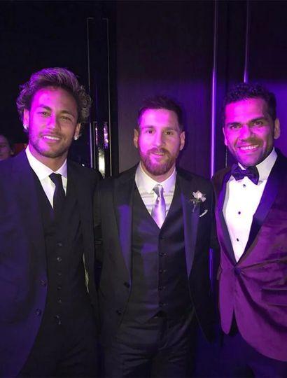 Neymar confesó el motivo de su partida del Barcelona durante el casamiento de Messi y Antonela