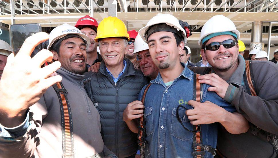 Mauricio Macri llevó la marcha del