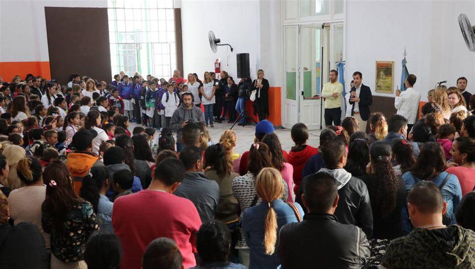 La Escuela N°1 vuelve a contar con el Salón de Usos Múltiples