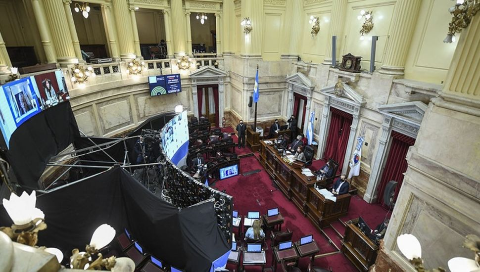 Ingresó al Senado el proyecto de reforma a la Justicia del Gobierno