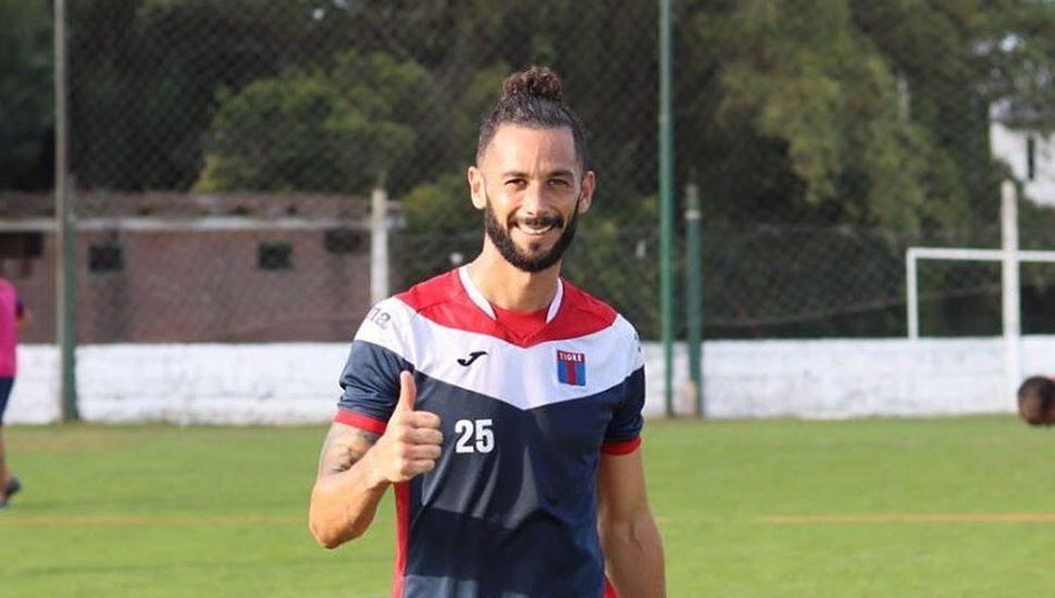Marcelo Larrondo, nuevo jugador de Tigre.