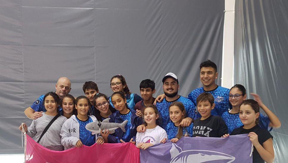 Brillante actuación de los nadadores de la Escuela Municipal en el torneo Proyección