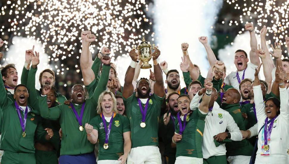 Sudáfrica se consagró campeón del mundial de rugby.