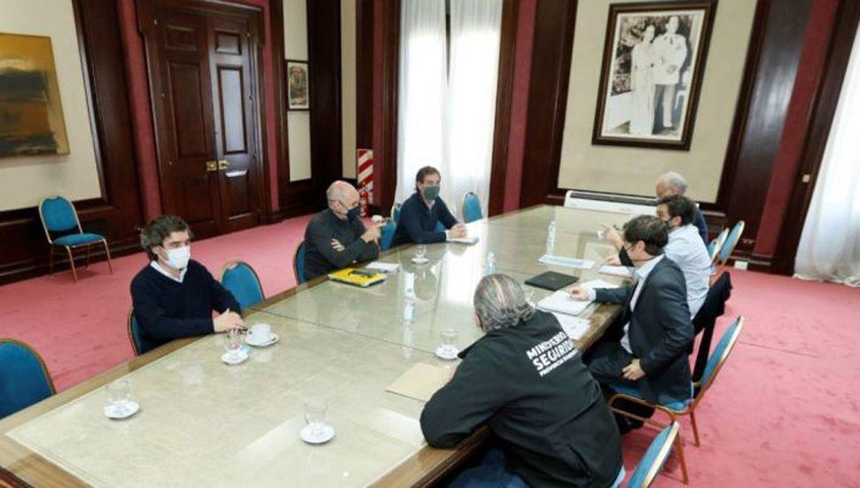Kicillof y Rodríguez Larreta definen el futuro  de la cuarentena con Alberto Fernández