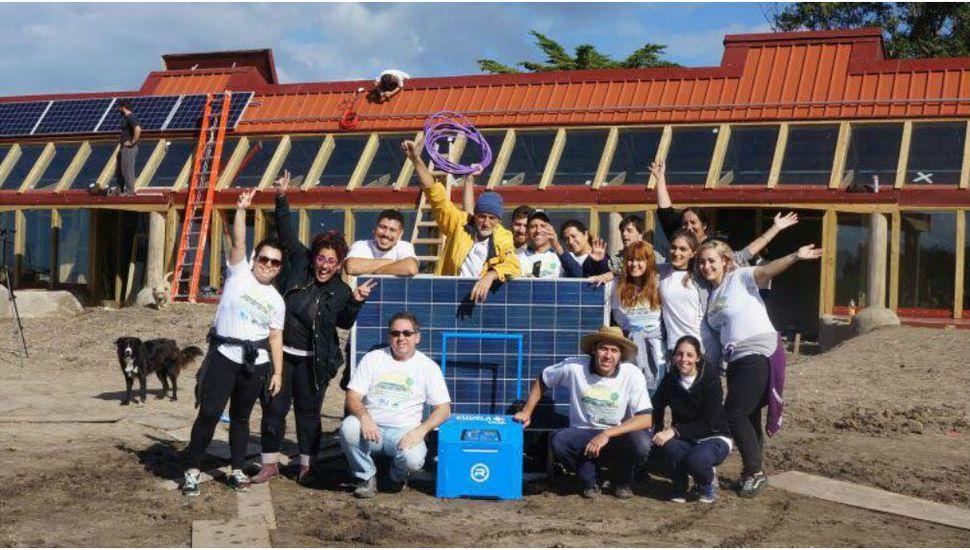 Inauguraron la primera escuela sustentable del país en Mar Chiquita