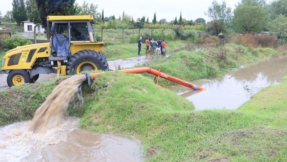 Cuatro familias evacuadas tras las fuertes lluvias registradas en Junín