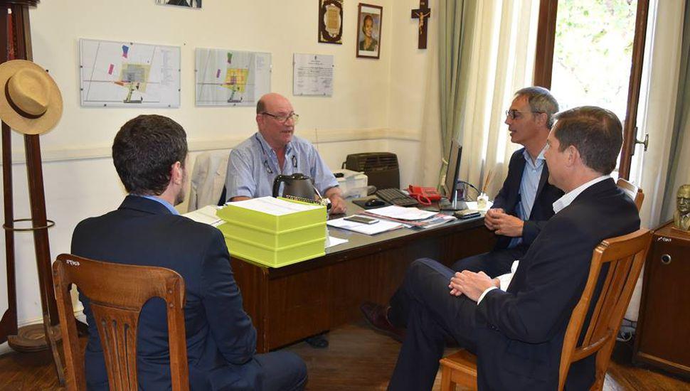 Finalizan las obras en la sucursal del Banco Provincia de Ameghino