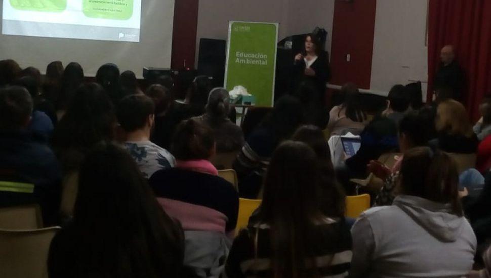 El OPDS capacitó a docentes sobre gestión de residuos