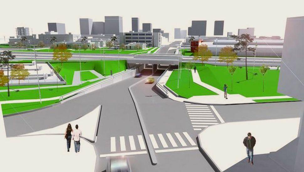 EL paso bajo a nivel de Rivadavia fue el proyecto que estuvo más cerca de concretarse.