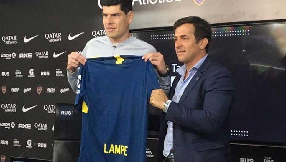 Presentación oficial para Carlos Lampe