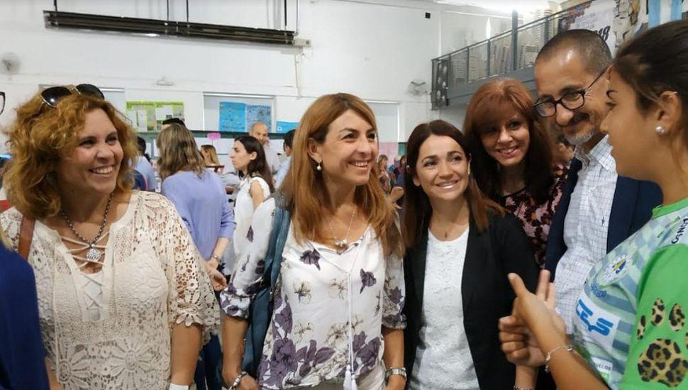 Natalia Quintana visitó Bragado